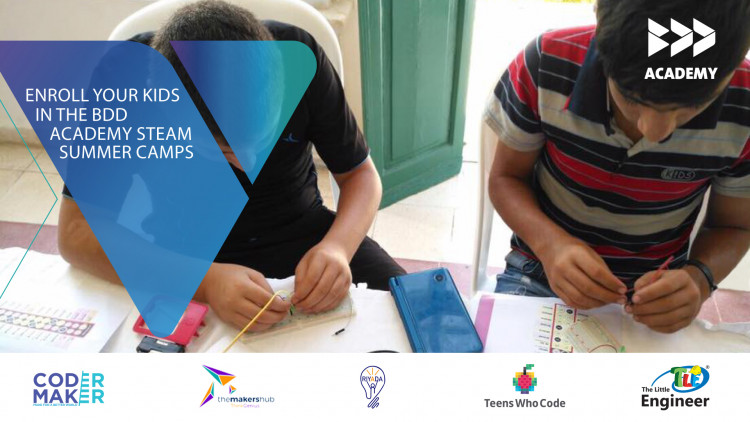 BDD Academy's Summer Camp - Engineered and Coded