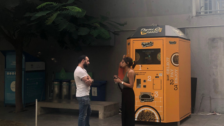 First Manoushe Vending Machine Now a Reality With akeltech