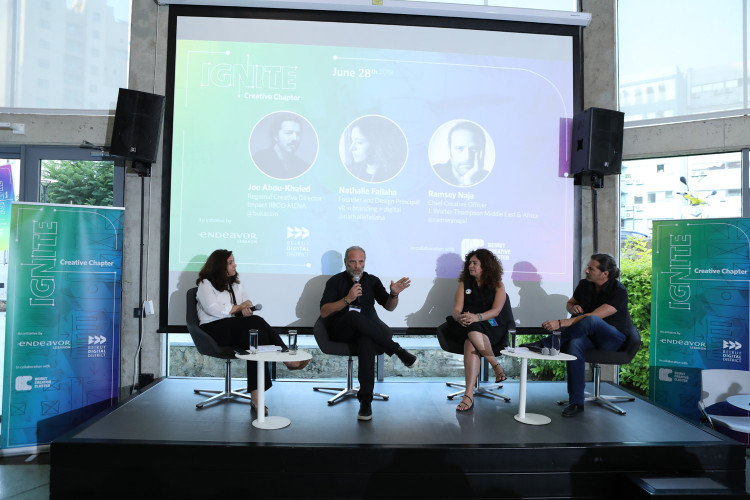 Creative experts encourage innovation for scaling-up at the first IGNITE Creative Chapter